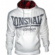 Lonsdale Hoodie Whitechapel weiss