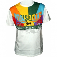 Lonsdale Loves All Colours Shirt wei�