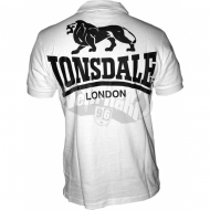 Lonsdale Poloshirt Acton wei�