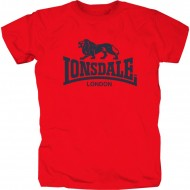 Lonsdale Promo Shirt rot
