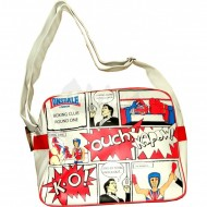 Lonsdale Schultertasche Comic weiss
