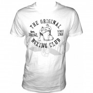 Lonsdale Shortsleeve T-Shirt BOXING CLUB weiss