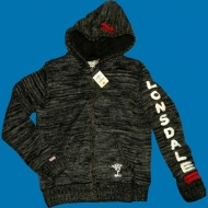 Lonsdale Slim Fit Hooded Knit Zipper Chandler