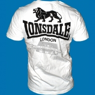 Lonsdale - Slim Fit T-Shirt Acton weiss