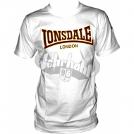 Lonsdale Slim Fit T-Shirt CLASSIC weiss