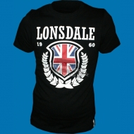 Lonsdale T-Shirt History Leaves