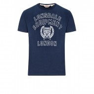 Lonsdale T-Shirt SIDCUP navy