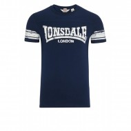 Lonsdale T-Shirt ST.IVES navy