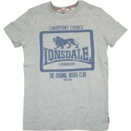 Lonsdale T-Shirt Southend on Sea grau