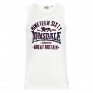 Lonsdale Tank Top CAMBORNE wei�