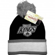 Los Angeles Kings Logo Beanie schwarz/grau | NHL |...