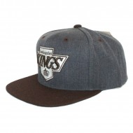 Los Angeles Kings Snapback Charcoal Dune 2 Tone | NHL | Mitchell & Ness