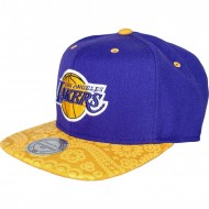 Los Angeles Lakers Snapback Paisleyl | NBA | Mitchell & Ness