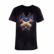 Maskulin - Dogs and Guns T-Shirt black