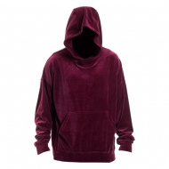 Maskulin Hoodie Velour winered