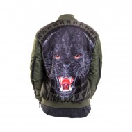 Maskulin Panther Bomber Jacket olive (SALE)