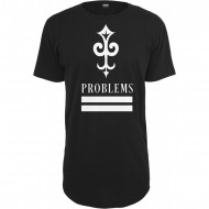 Mister Tee - Key Problems Long Tee schwarz