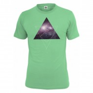 Mister Tee - T-Shirt Galaxy mint
