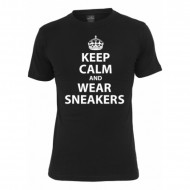 Mister Tee - T-Shirt Keep Calm schwarz