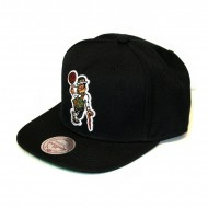 Mitchell & Ness Boston Celtics Wool Solid 2 Snapback black