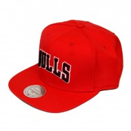 Mitchell & Ness Chicago Bulls Wool Solid Block...