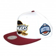 Mitchell & Ness Cleveland Cavaliers Snapback Snapback weiss