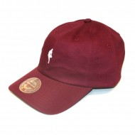 Mitchell & Ness Curved Strapback Little Dribbler NBA burgundy/white