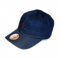 Mitchell & Ness Curved Strapback Little Dribbler NBA navy/burgundy
