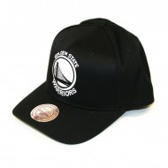 Mitchell & Ness Golden State Warriors 110 Curved Snapback...