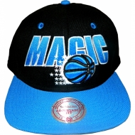 Mitchell & Ness - Orlando Magic XL Logo Fitted Snapback