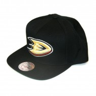 Mitchell & Ness Snapback Anaheim Ducks Wool Solid | NHL