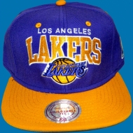 Mitchell & Ness - Snapback Cap Los Angeles Lakers