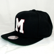 Montreal Maroons Snapback Wool Solid | NHL | Mitchell & Ness (AUSVERKAUFT)