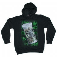 Monsterpiece - Premium Kush Hoodie schwarz (SALE)