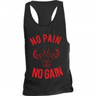 NPNG Tank Top / Racerback No Pain No Gain Red