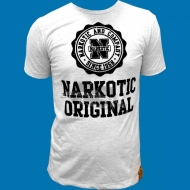 Narkotic Wear - Narkotic Original T-Shirt grau/schwarz