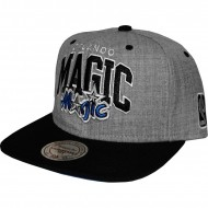 Orlando Magic Snapback grau / schwarz | NBA | Mitchell &...