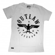 Outlaw All Eyes On Me Shirt Weiß