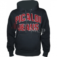 Picaldi 2072 Hoody anthrazit/red M