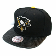 Pittsburgh Penguins Snapback Fibre| NHL | Mitchell & Ness