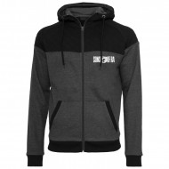 Sons of Ra - Diamond Block Zip Hoodie cha/blk