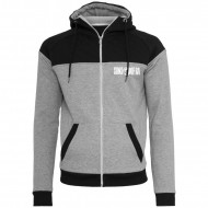 Sons of Ra - Diamond Block Zip Hoodie gry/blk