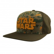 Star Wars - Army of 77 Snapback Cap camouflage