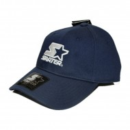 Starter Curved Icon Strapback Cap navy