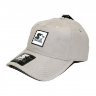 Starter Curved Low Key Strapback Cap grau