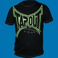 Tapout - Less is more T-Shirt schwarz/gr�n