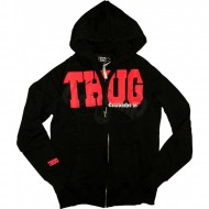 Thug Life - College Group Zip Hoodie schwarz