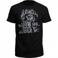 Thug Life - Dont judge 2Pac T-Shirt schwarz