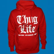 Thug Life Hoody - Old English Hoody rot