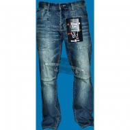 Thug Life Jeans Denim Pant Dark Blue Wash (SALE)